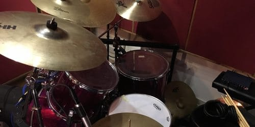 Recording studio in Cyprus - Drums